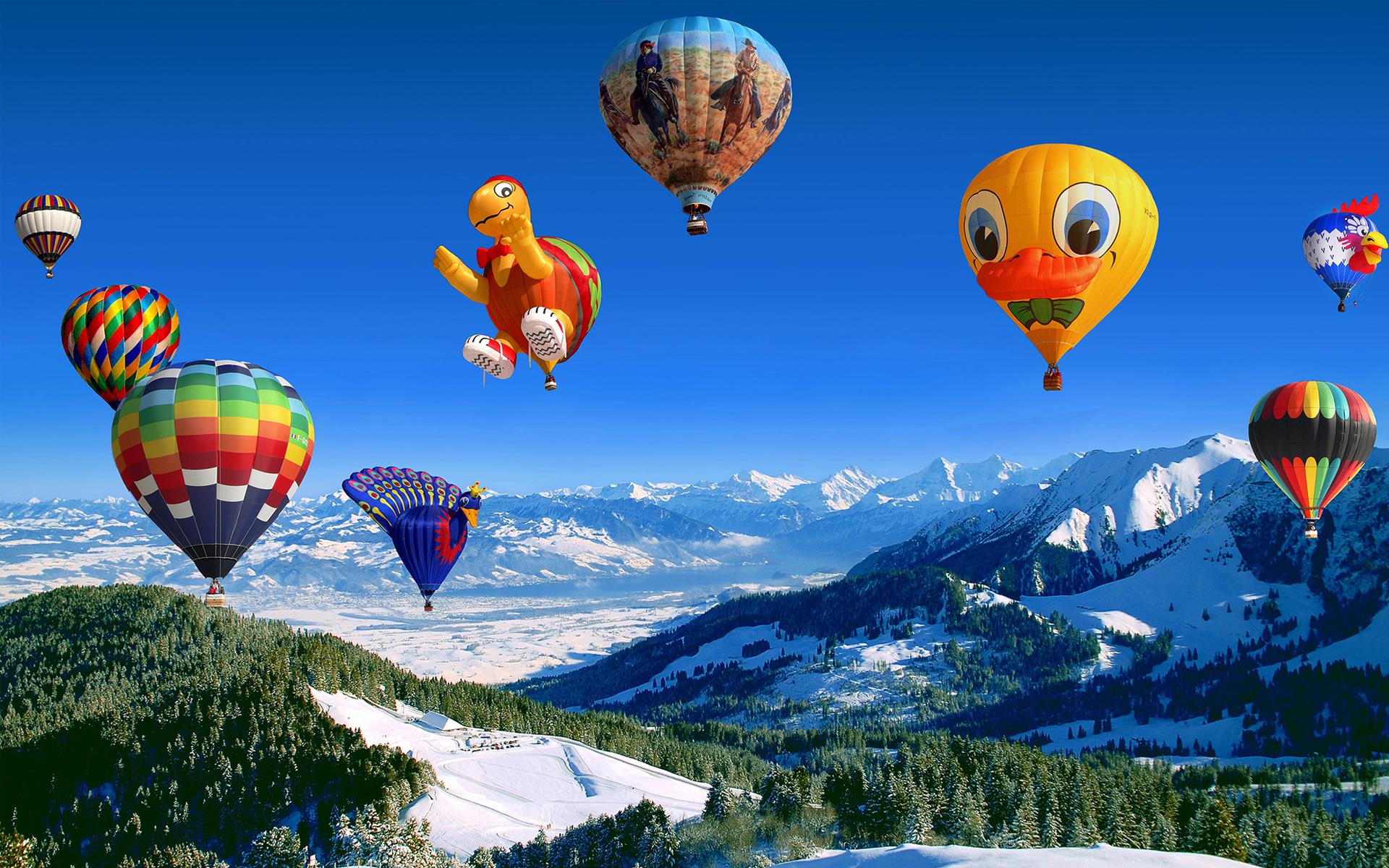 Hot Air Balloon Festival Wallpapers HD Wallpapers 1920x1200
