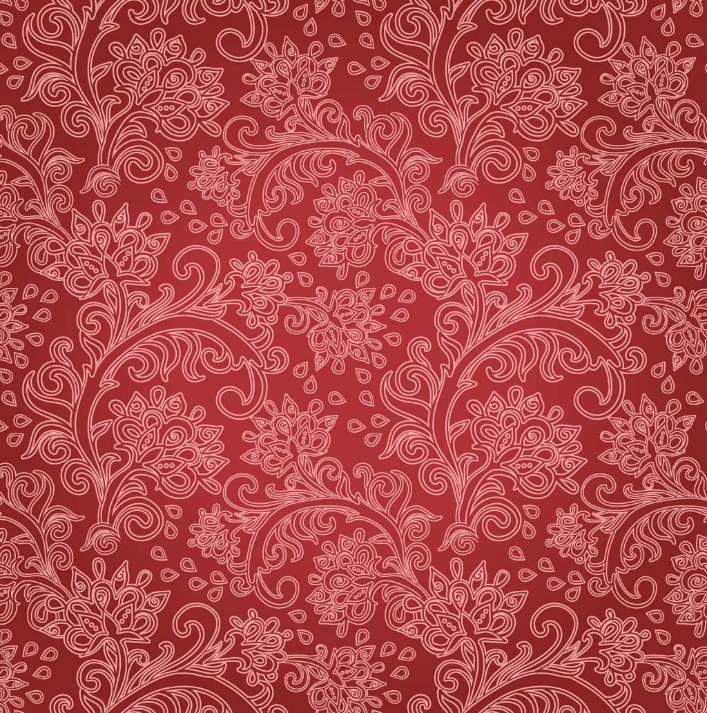 Red Floral Background - Red Flower Wallpaper - WallpaperSafari