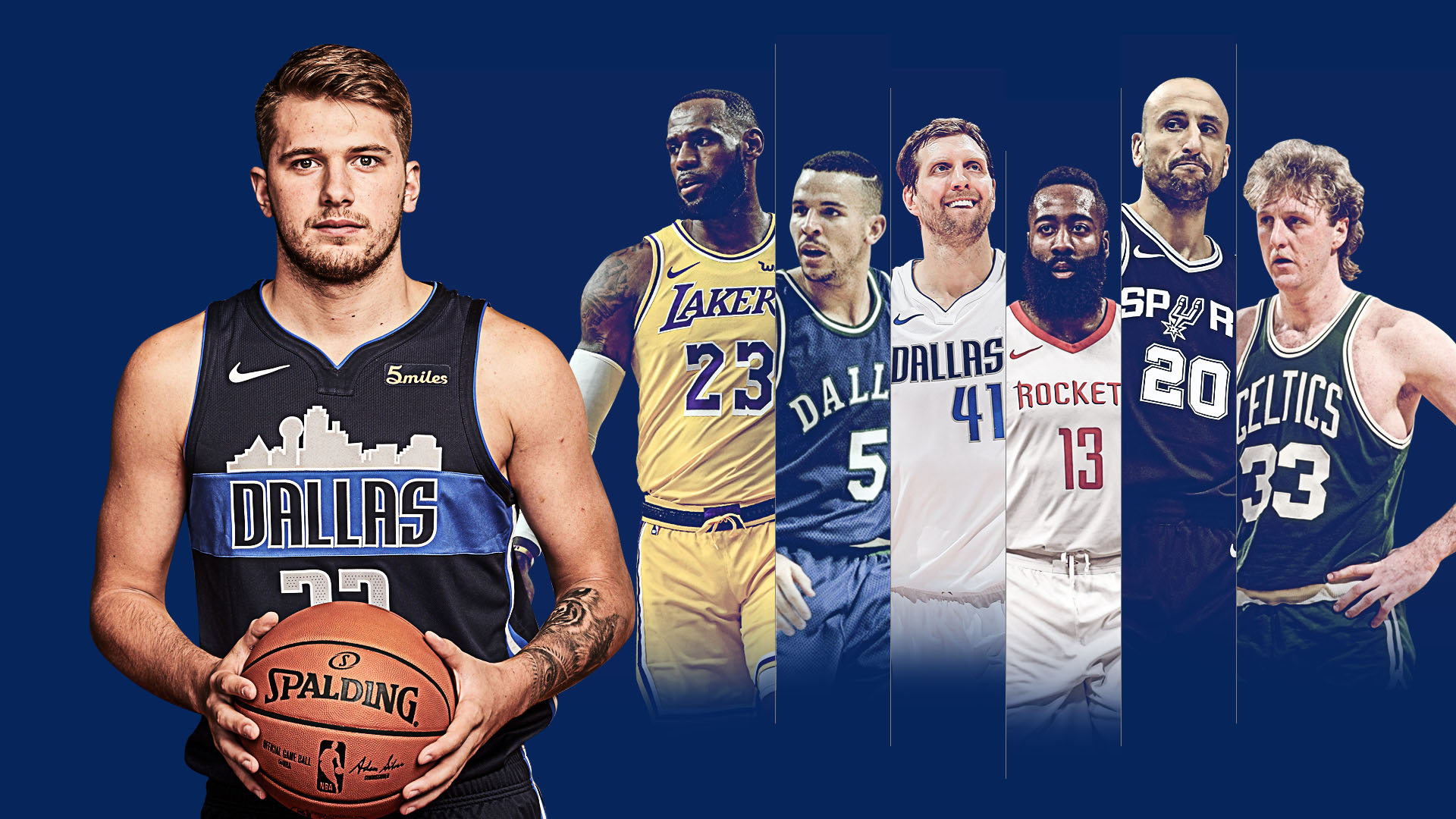 23 Luka Doncic Dallas Mavericks Wallpapers On Wallpapersafari