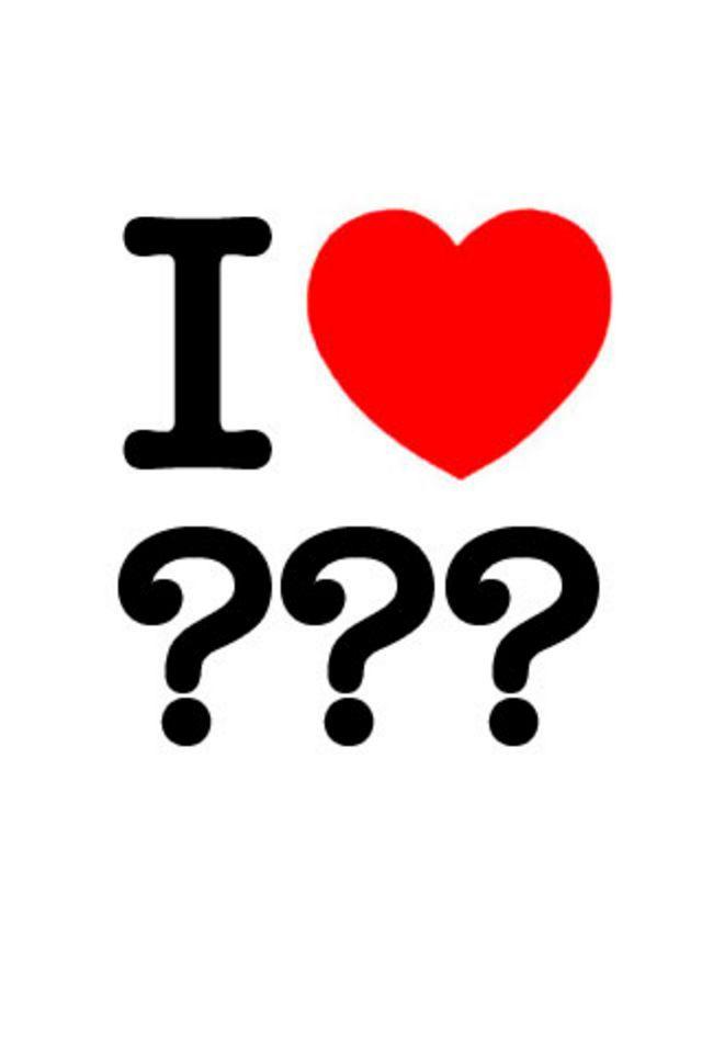 Love Question Mark Wallpaper 640x960