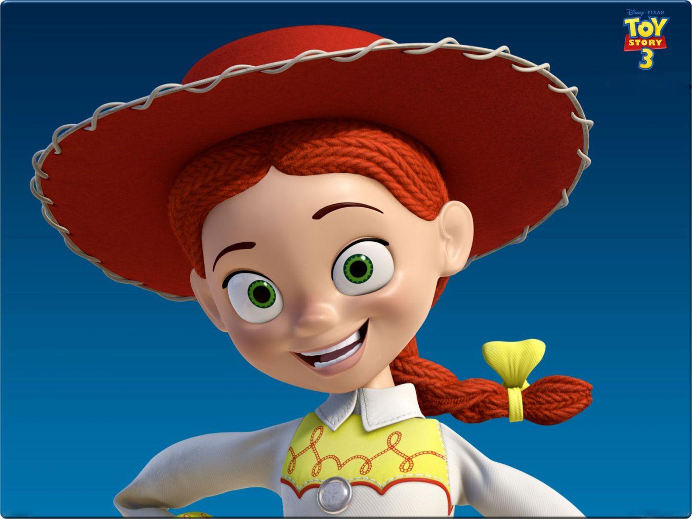 Jessie Headshot Toy Story 3 Wallpaper 14001050   Toy Story 1400x1050