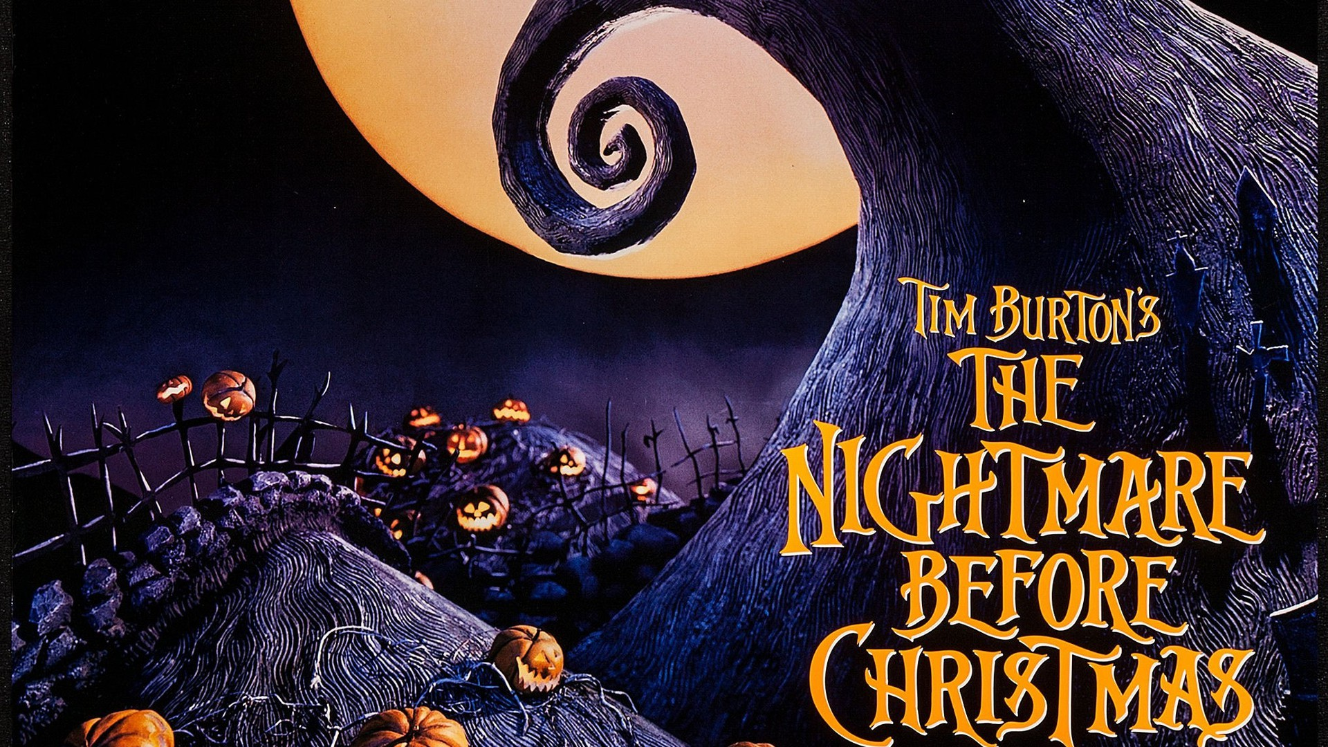 Nightmare Before Christmas Wallpapers HD 1920x1080