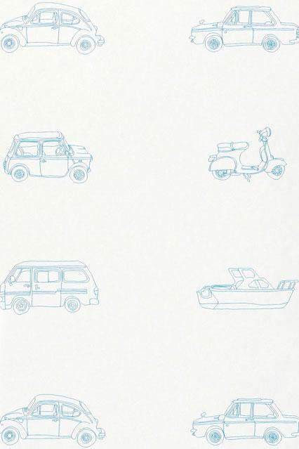 Go Go Retro   Kids Wallpaper Ideas Designs houseandgardencouk 426x639