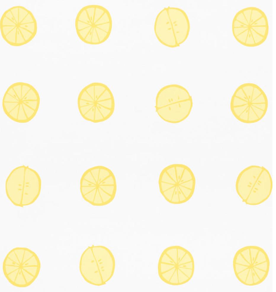 Lemonade Wallpaper   Urban American Dry Goods Co 932x988