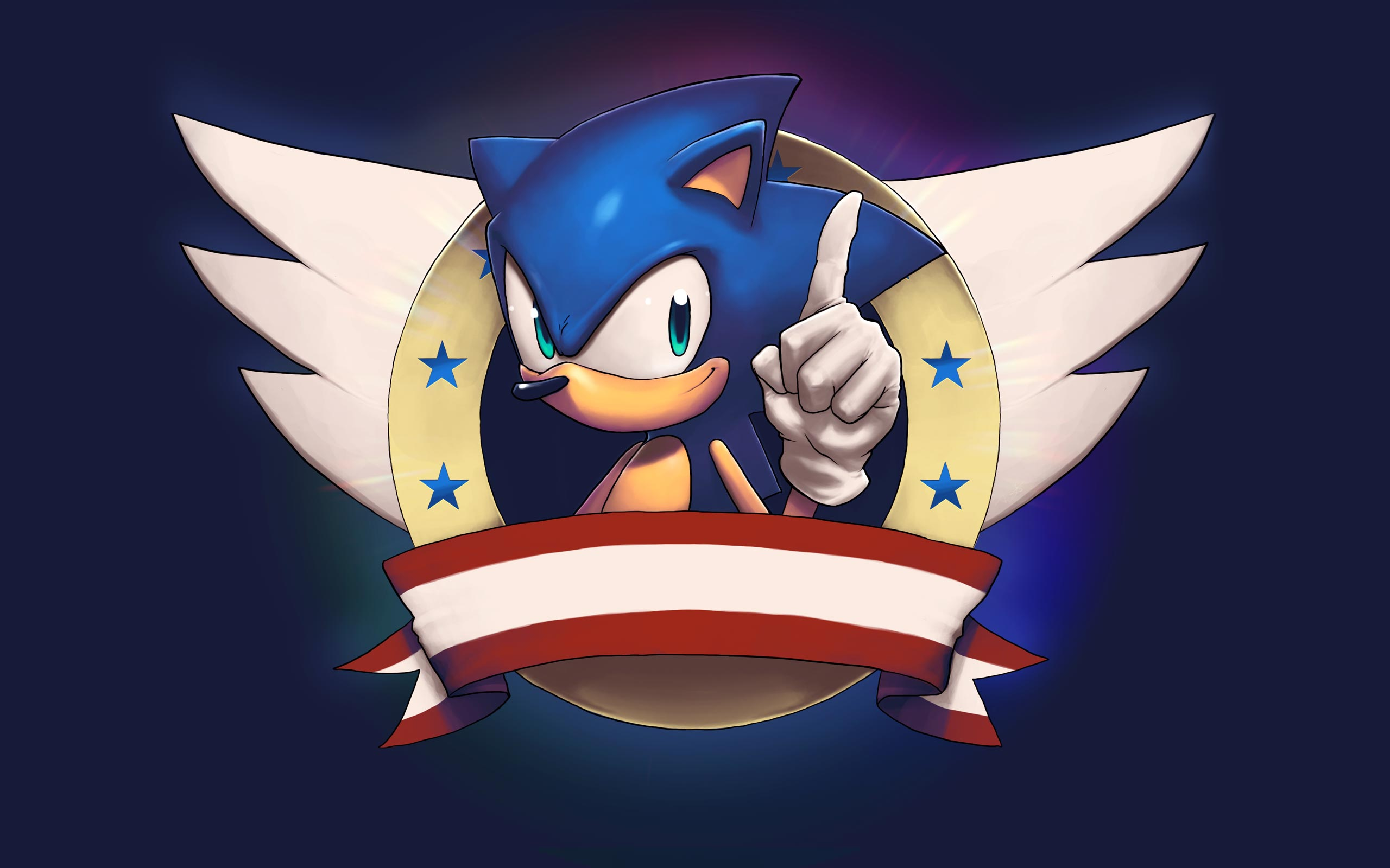 49 Classic Sonic Wallpaper Hd On Wallpapersafari