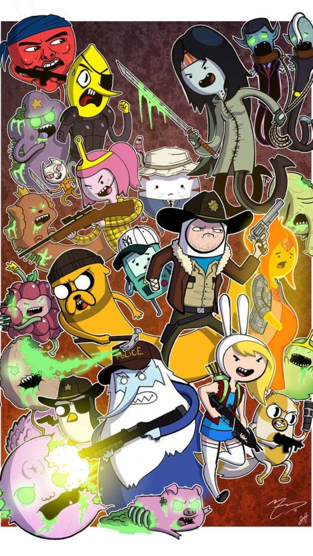 Adventure Time Phone Wallpaper Wallpapersafari