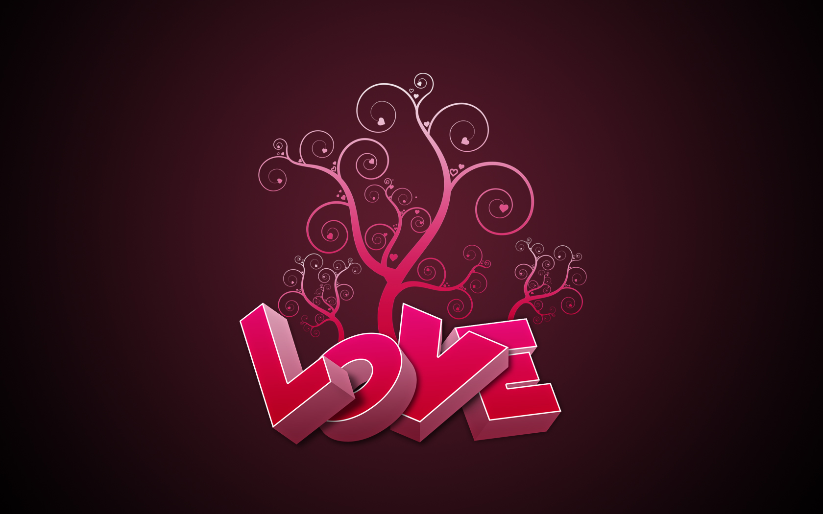 Love in Pink Wallpapers HD Wallpapers 1680x1050