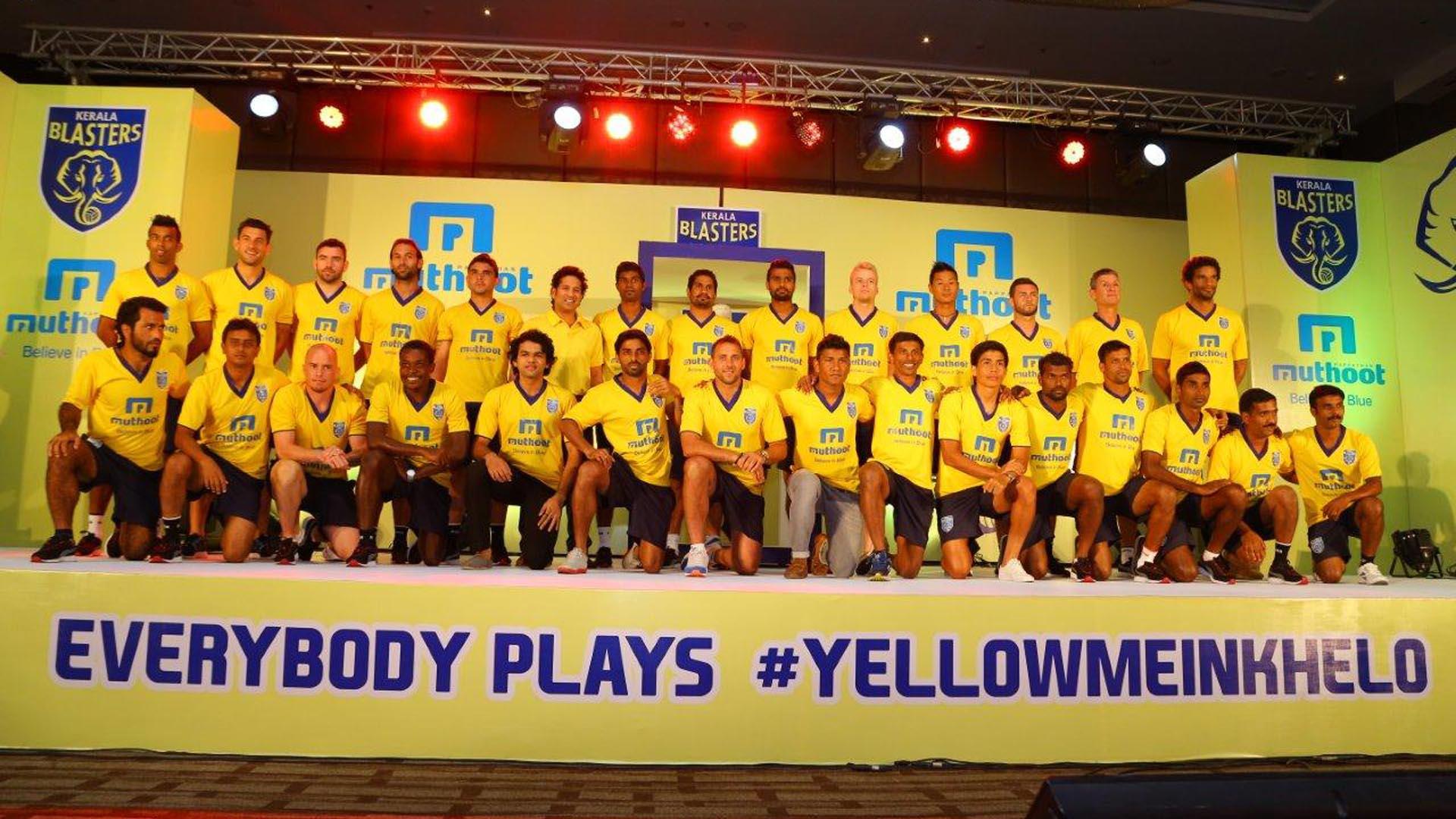 Kerala Blasters Fc   Kerala Blasters Fc Squad 179285   HD 1920x1080