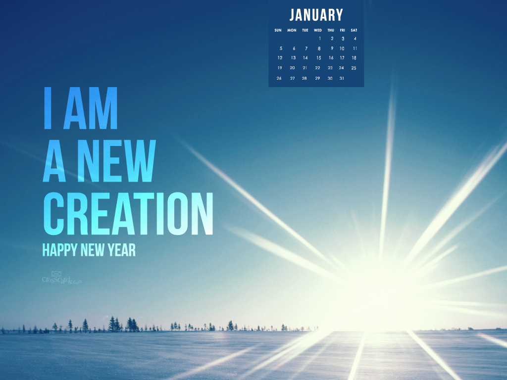 2014   New Creation Desktop Calendar  Monthly Calendars Wallpaper 1024x768