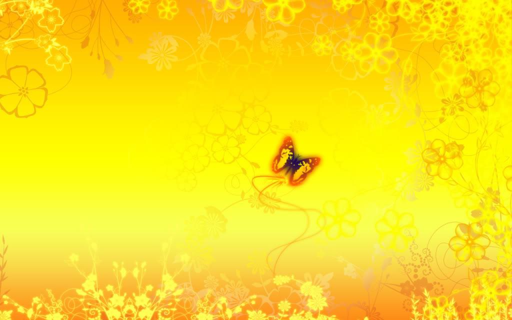 FlorAL YELLOW Wallpaper FlorAL YELLOW Desktop Background 1024x640