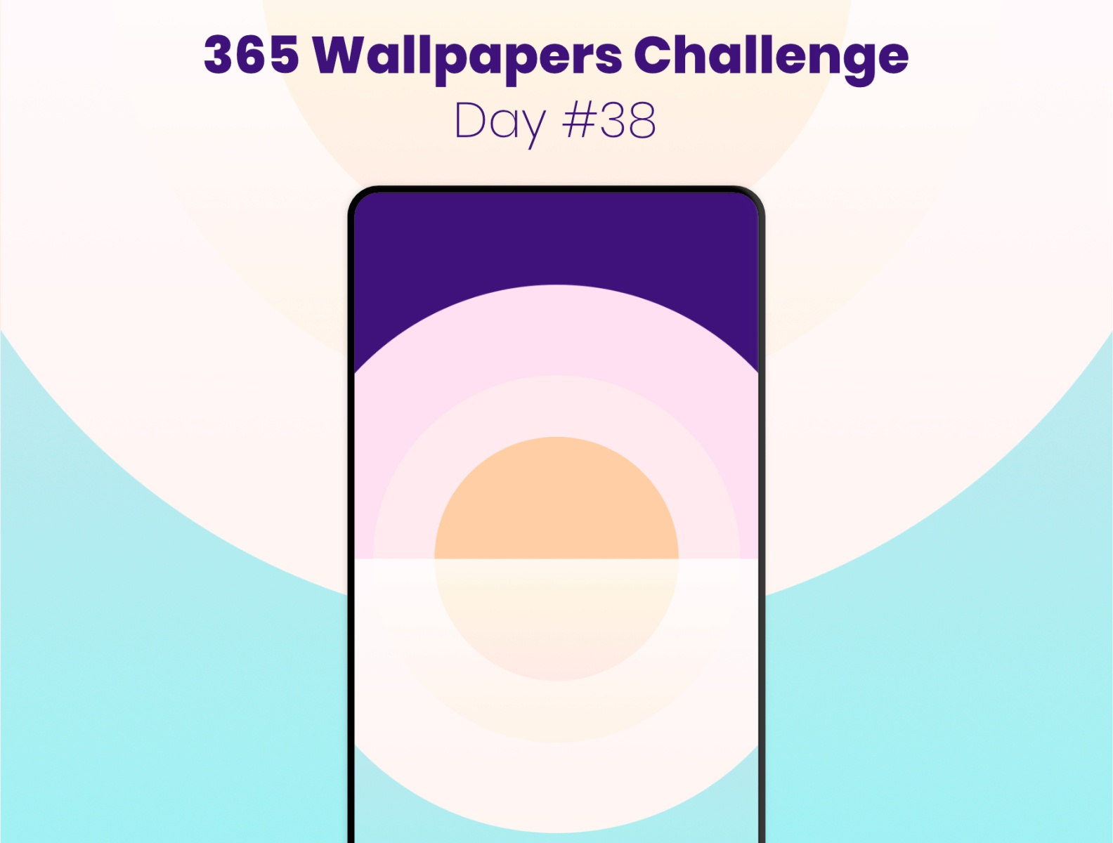 365 Wallpapers Challenge   Day 38 by Reda Lazri on Dribbble 1584x1200