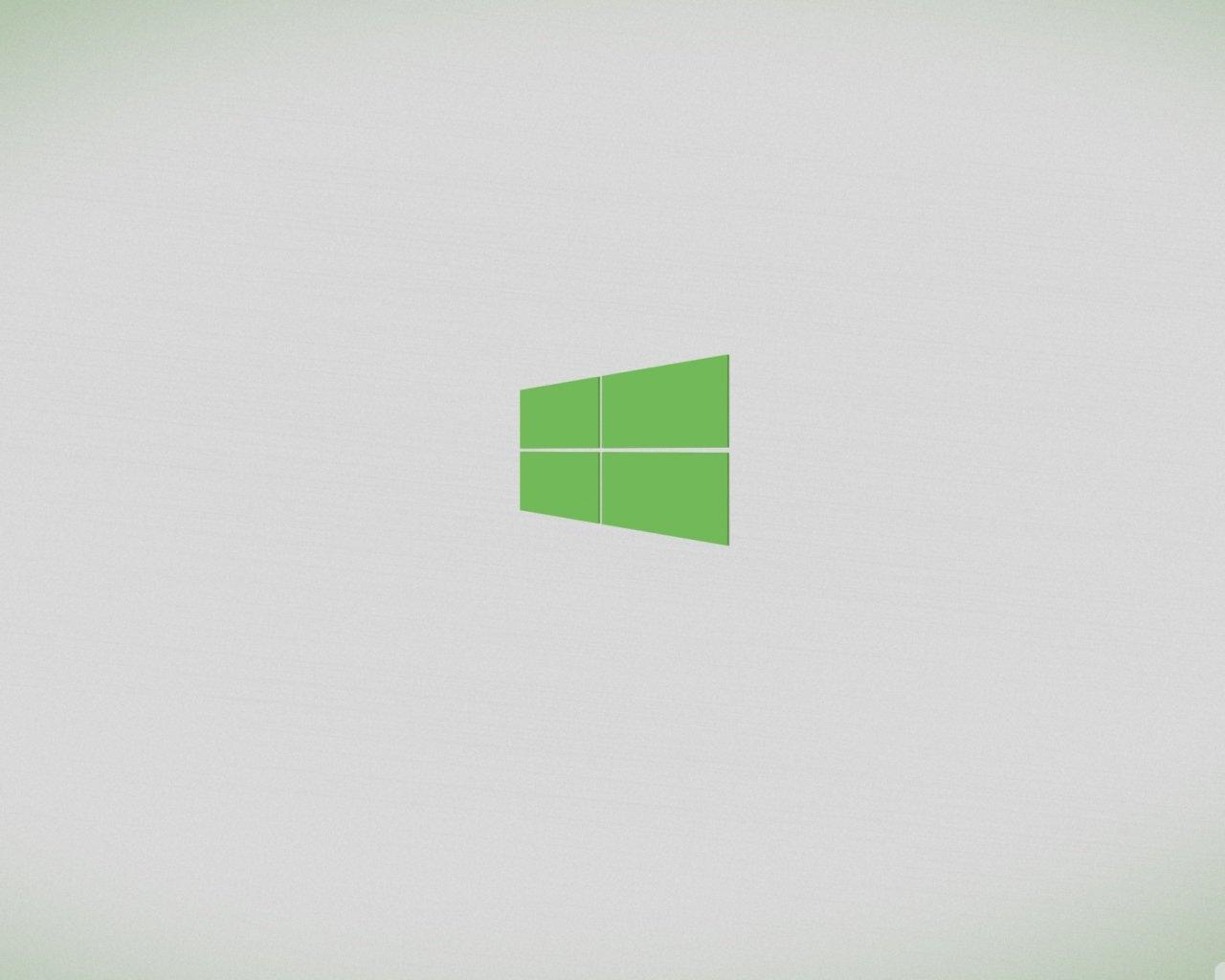 Computers   Windows 8 Windows 8 minimal theme green 042098 10jpg 1280x1024