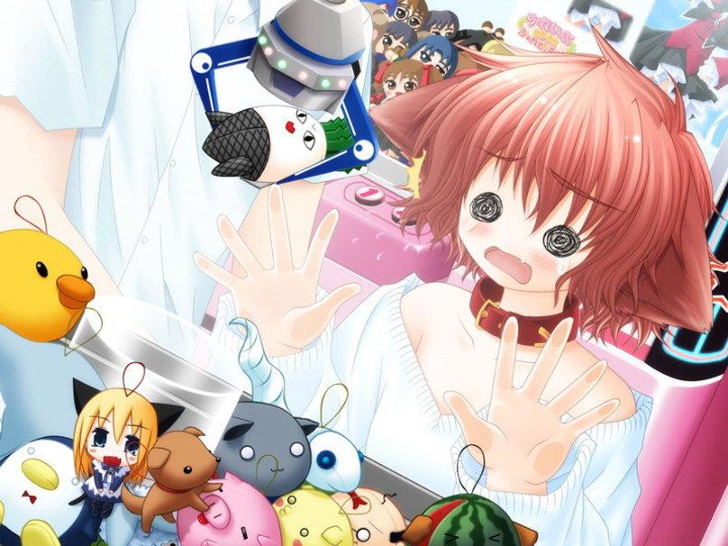 Anime Neko wallpaper 808x606