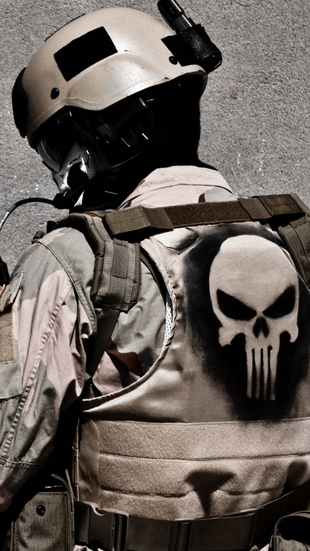 Samsung Galaxy S5 Wallpapers: Punisher Army Android Wallpapers