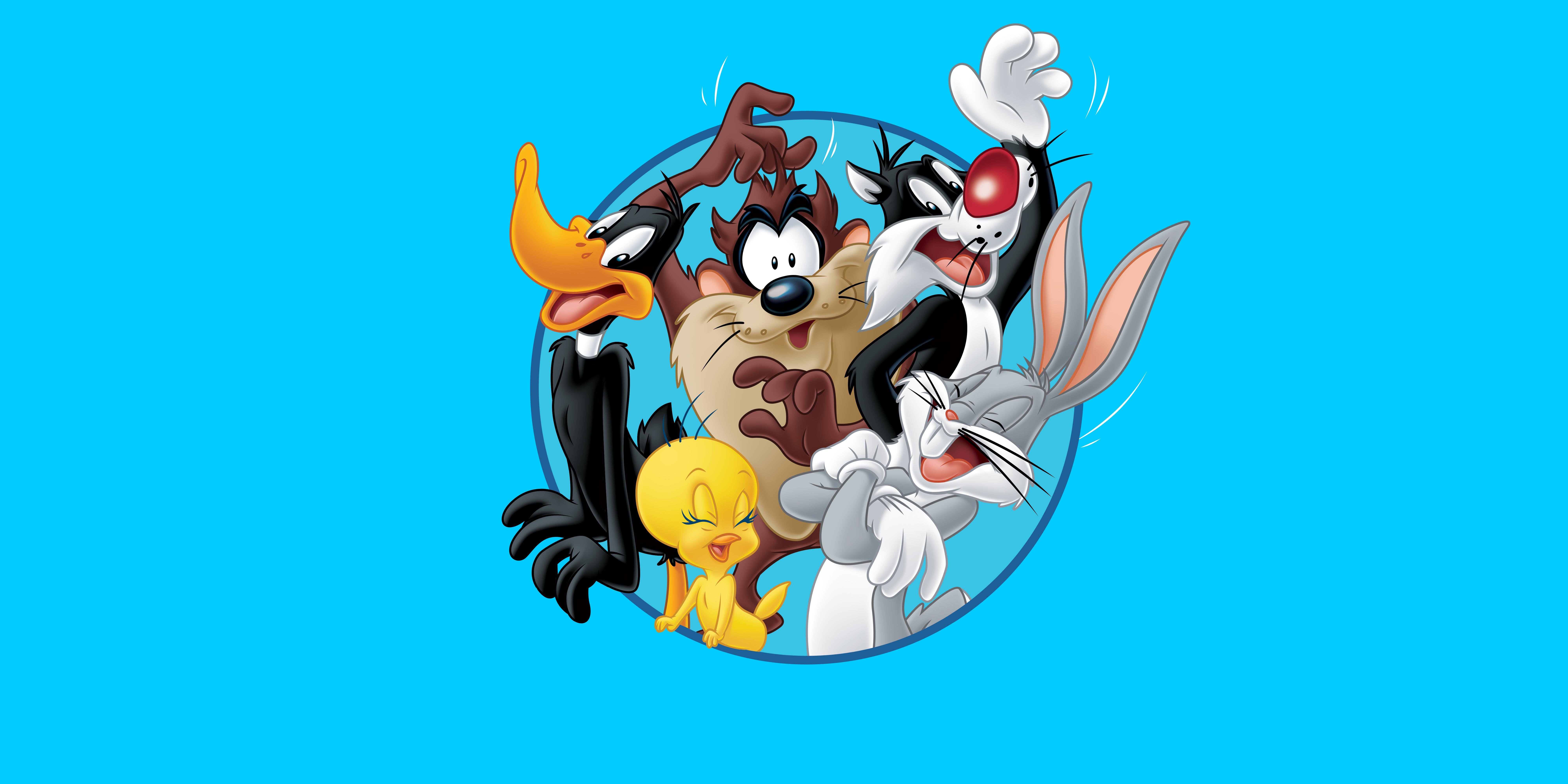 looney tunes bugs bunny daffy duck tasmanian devil tweety bugs bunny 8000x4000