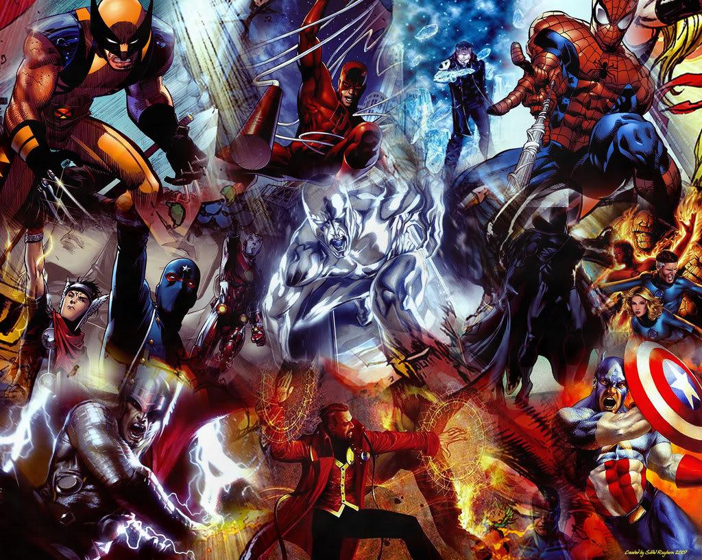 Marvel Wallpaper Marvel Desktop Background 1024x817