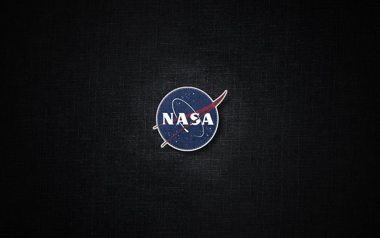 nasa logo with black background - photo #5