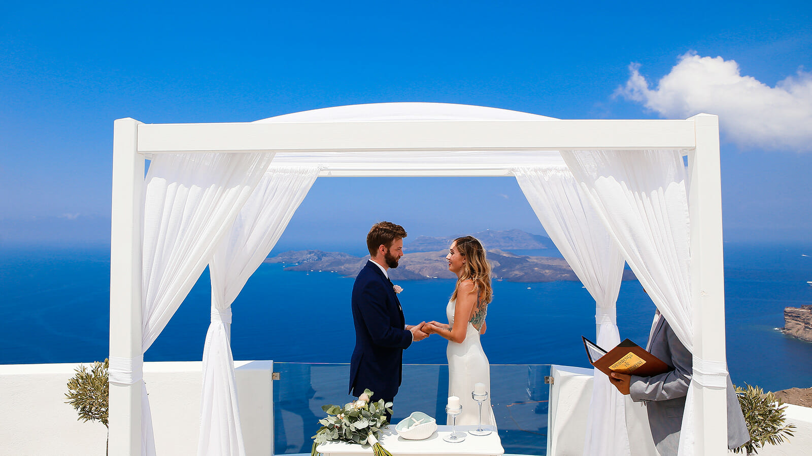 Weddings in Santorini Santorini Greece Wedding Packages 1600x900