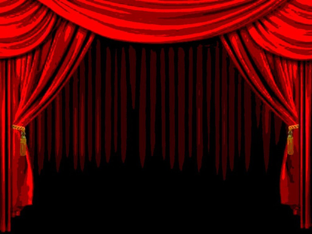 red curtains theatre - photo #29
