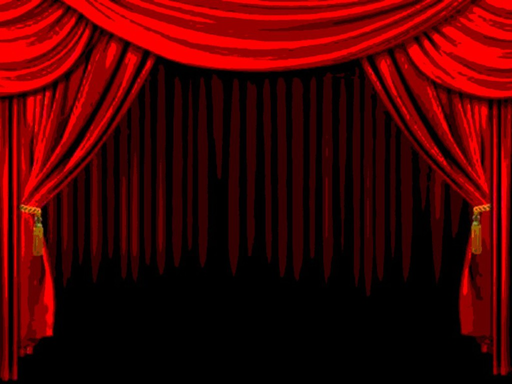 stage curtain wallpaper wallpapersafari With theatre curtains wallpaper