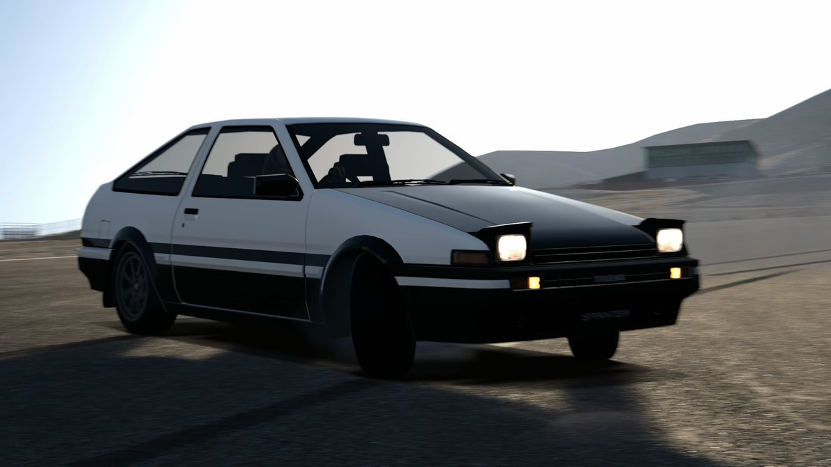 46 Ae86 Drift Wallpaper On Wallpapersafari