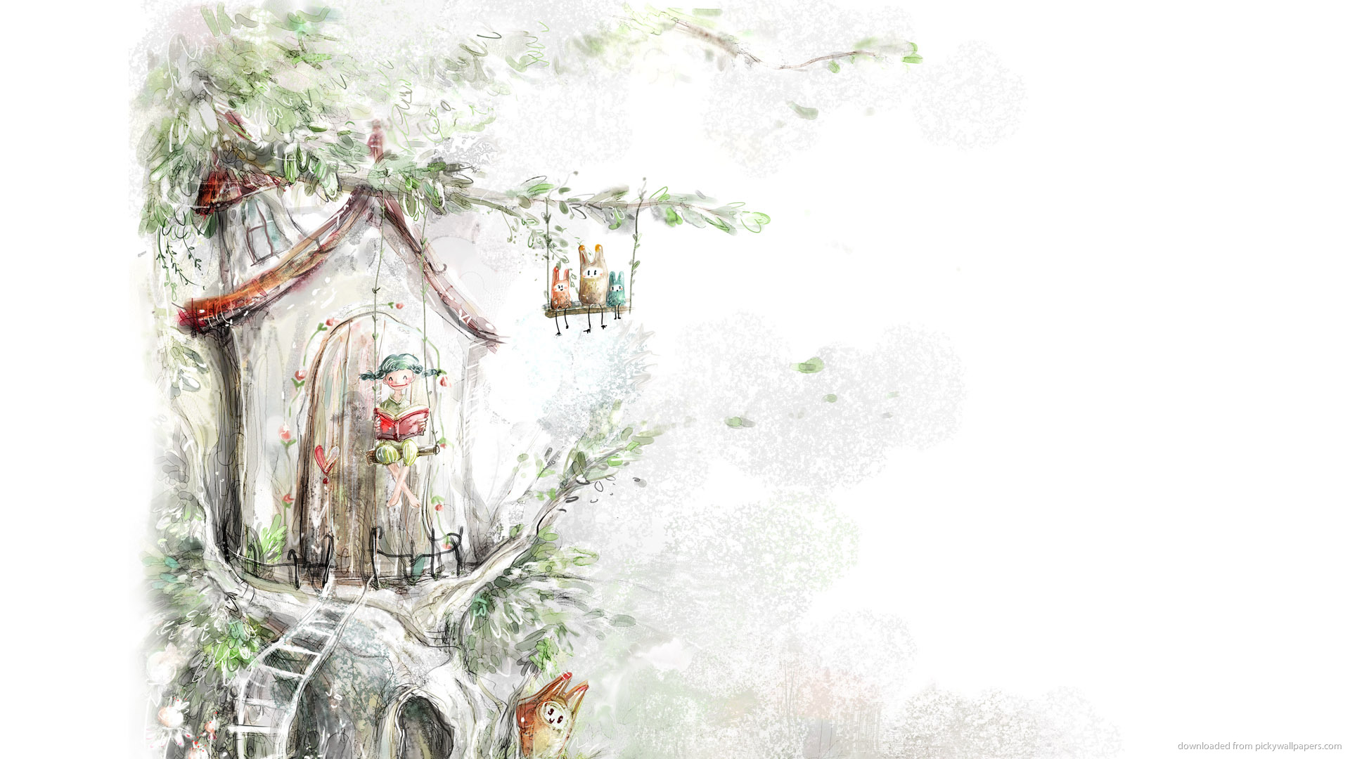 Fairy Tale Background Wallpapersafari HD Wallpapers Download Free Images Wallpaper [1000image.com]