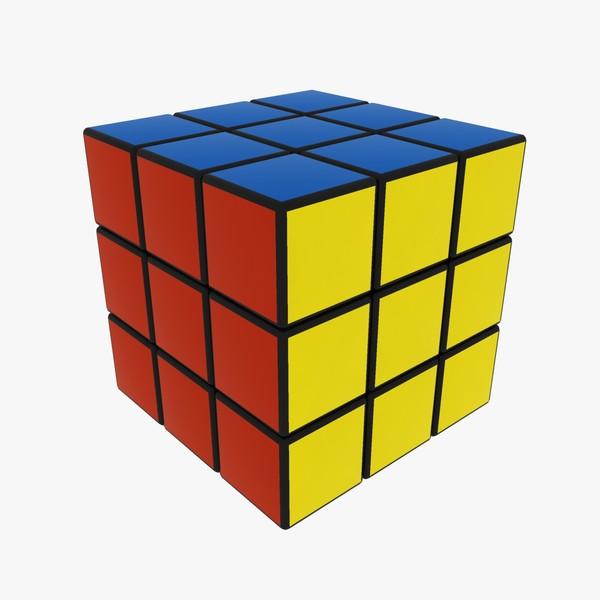 3d Rubiks Cube 1280x1024 Picture 600x600