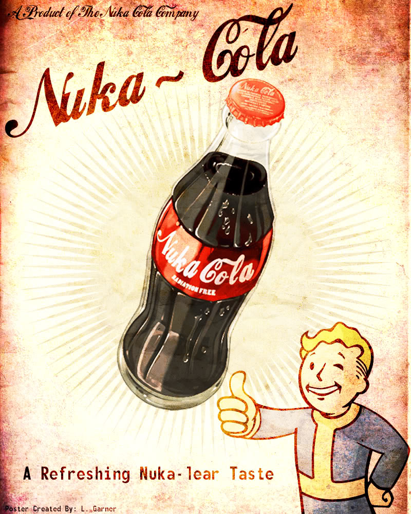 Fallout 4 Wallpaper Hd: Nuka Cola Girl Wallpaper