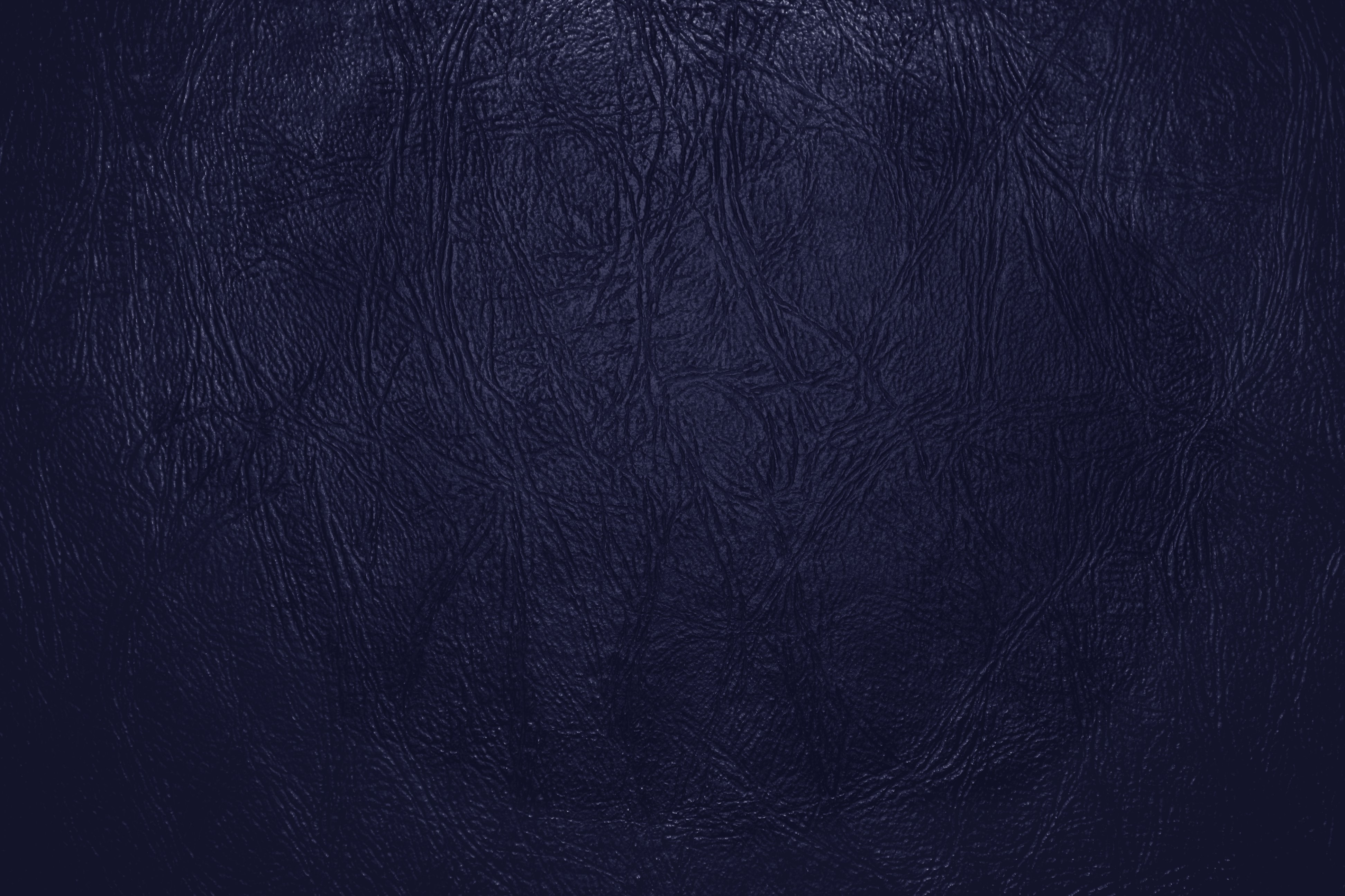 Navy Blue Leather Close Up Texture Picture Photograph Photos 3888x2592