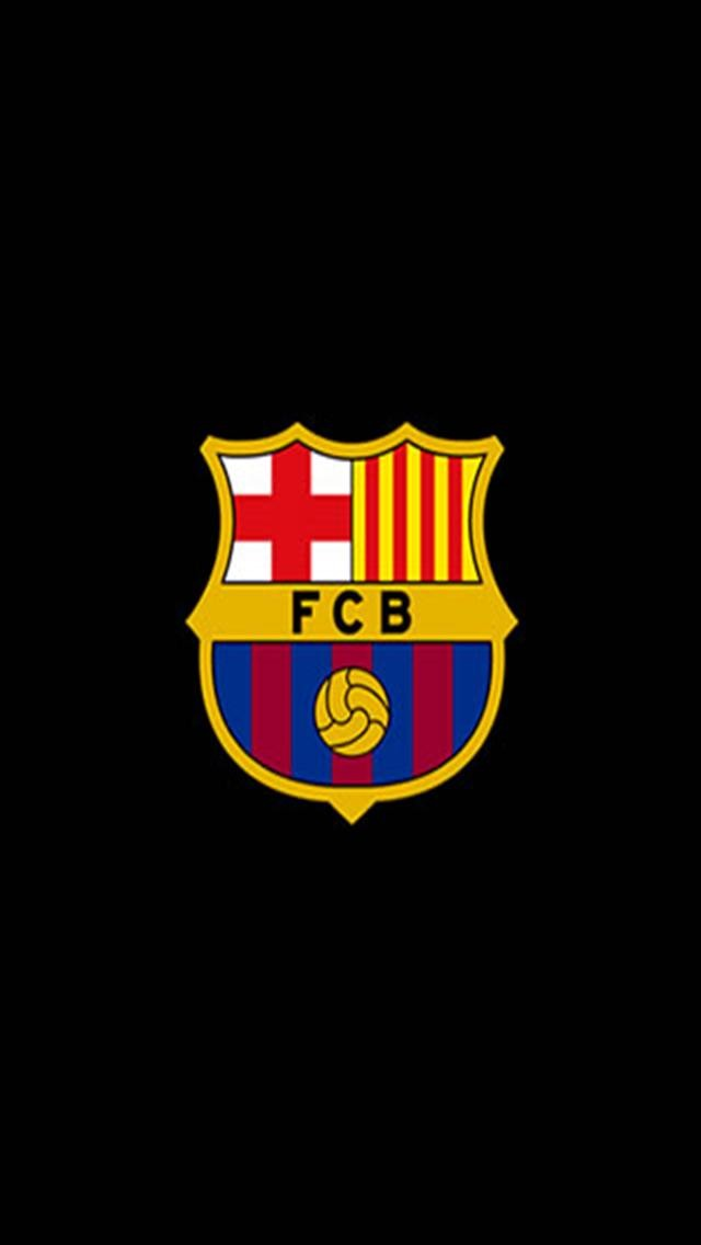 Barcelona FC Logo Sports iPhone Wallpapers iPhone 5s4s3G 640x1136