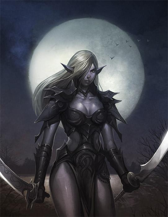 Dark Elf by nJoo 541x700