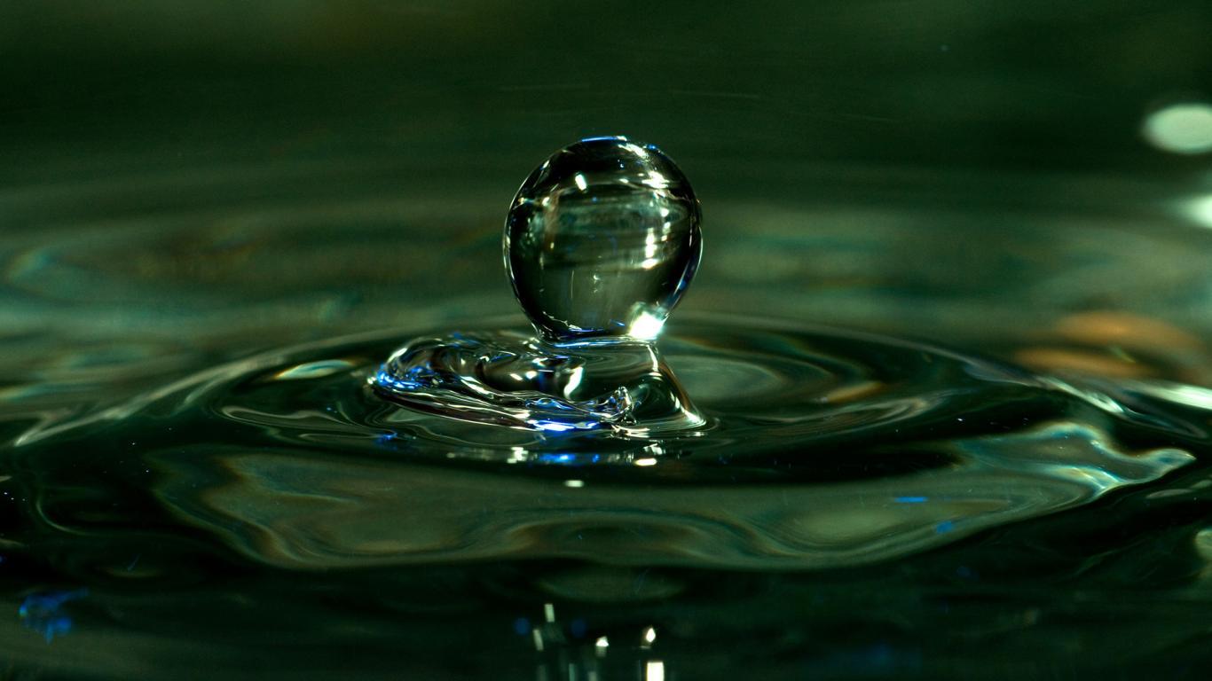 47 hd water drops wallpaper on wallpapersafari - Desktop wallpaper hd free download 1366x768 ...