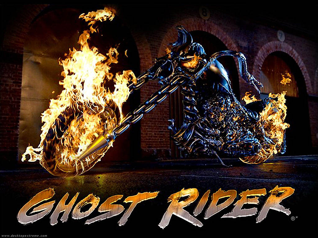Ghost Rider Wallpaper by DesktopExtremecom   Wallpaper For Your 1024x768