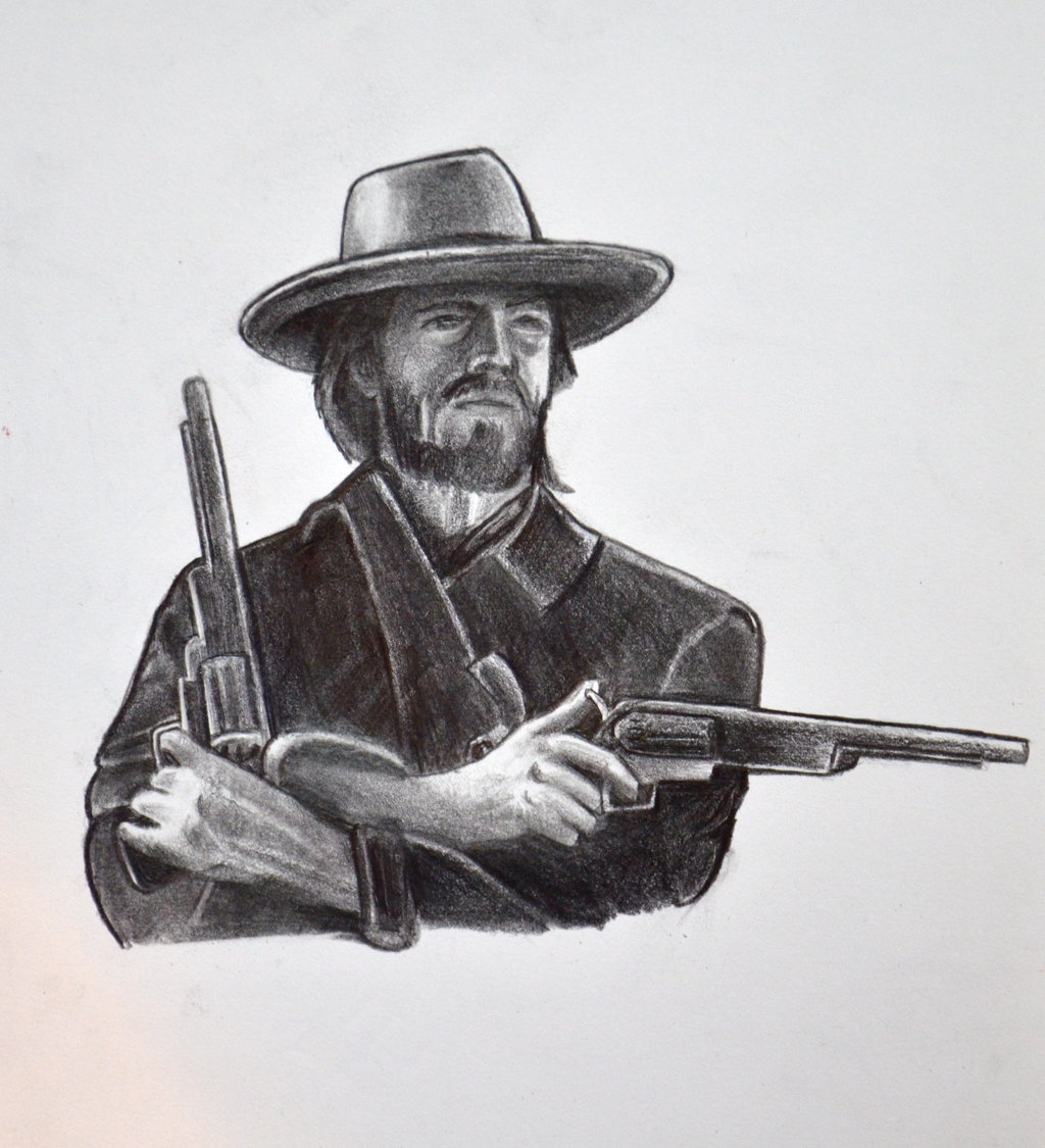Clint Eastwood as The Outlaw Josey Wales by HotWheeler 1024x1125