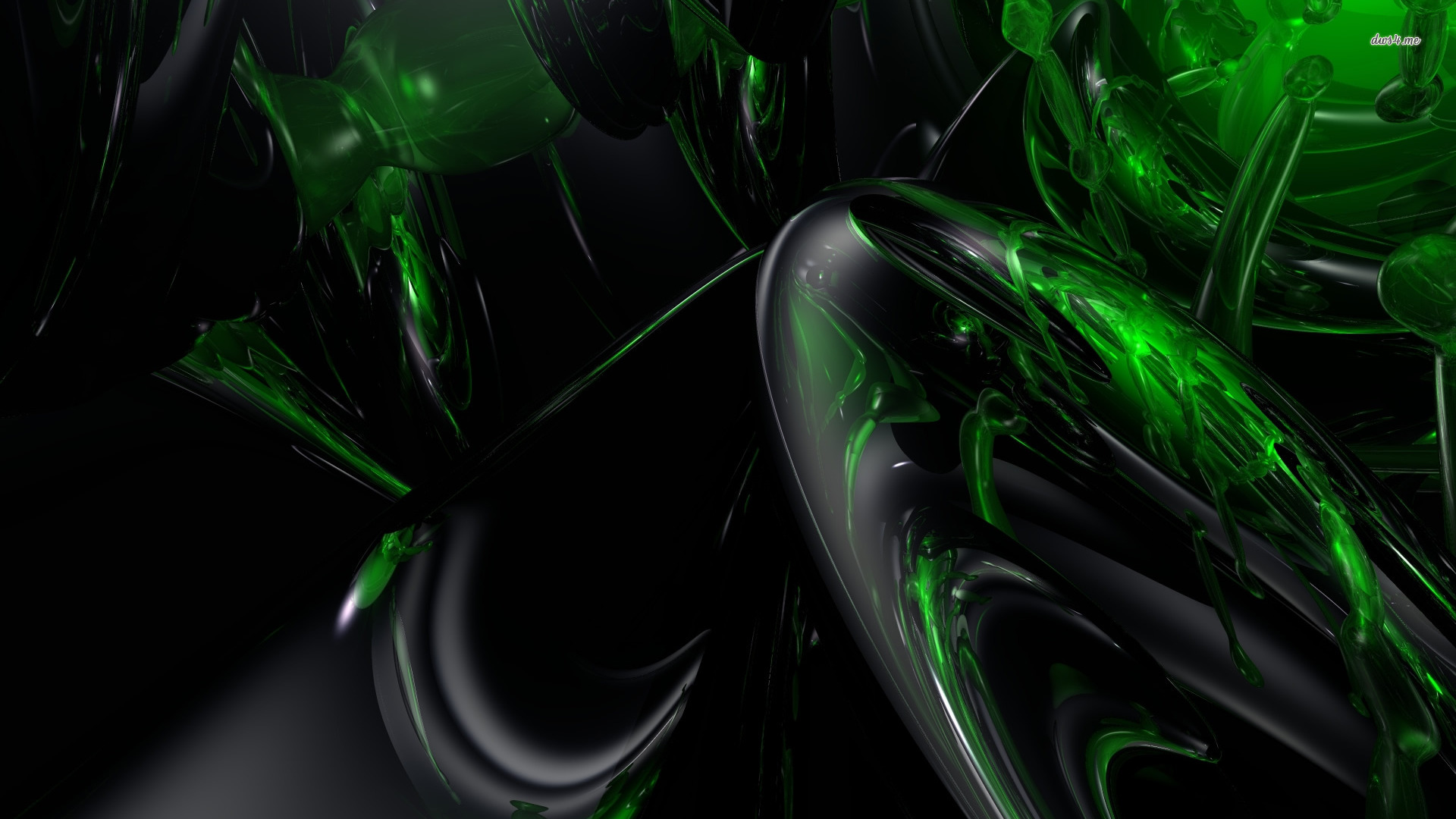 Another set of abstract black themed wallpapers in HD 1 Design 1920x1080