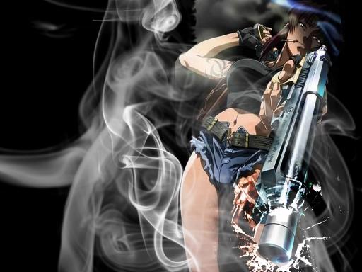 Badass Anime Guns Girls Wallpaper Wwwpicswecom