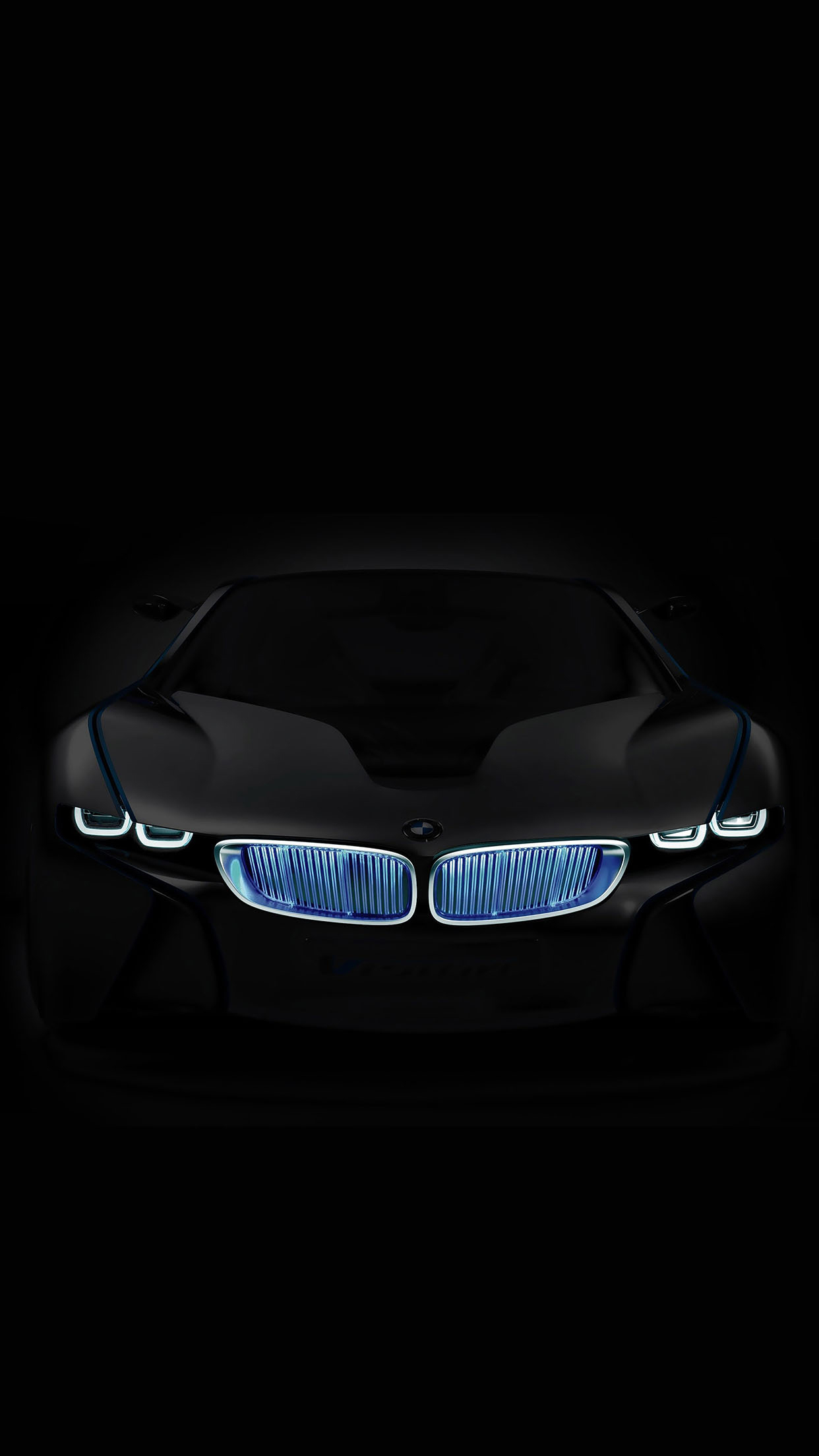 BMW In The Dark Android Wallpaper download 1242x2208