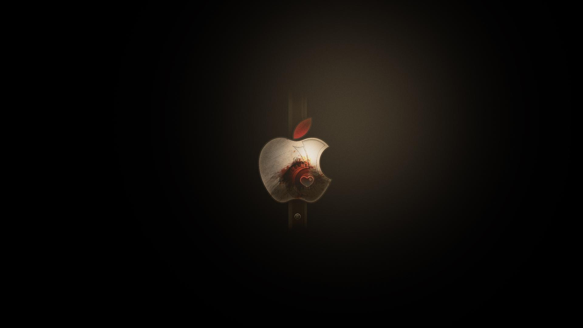 Sfondi Natalizi Apple.66 Metal Apple Wallpaper On Wallpapersafari