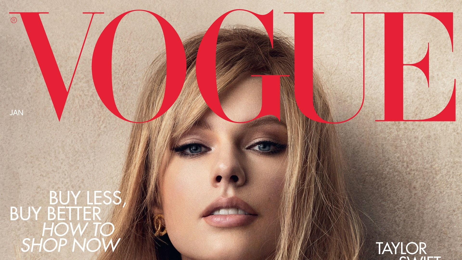 Taylor Swift Covers The January Issue Of British Vogue 1920x1080