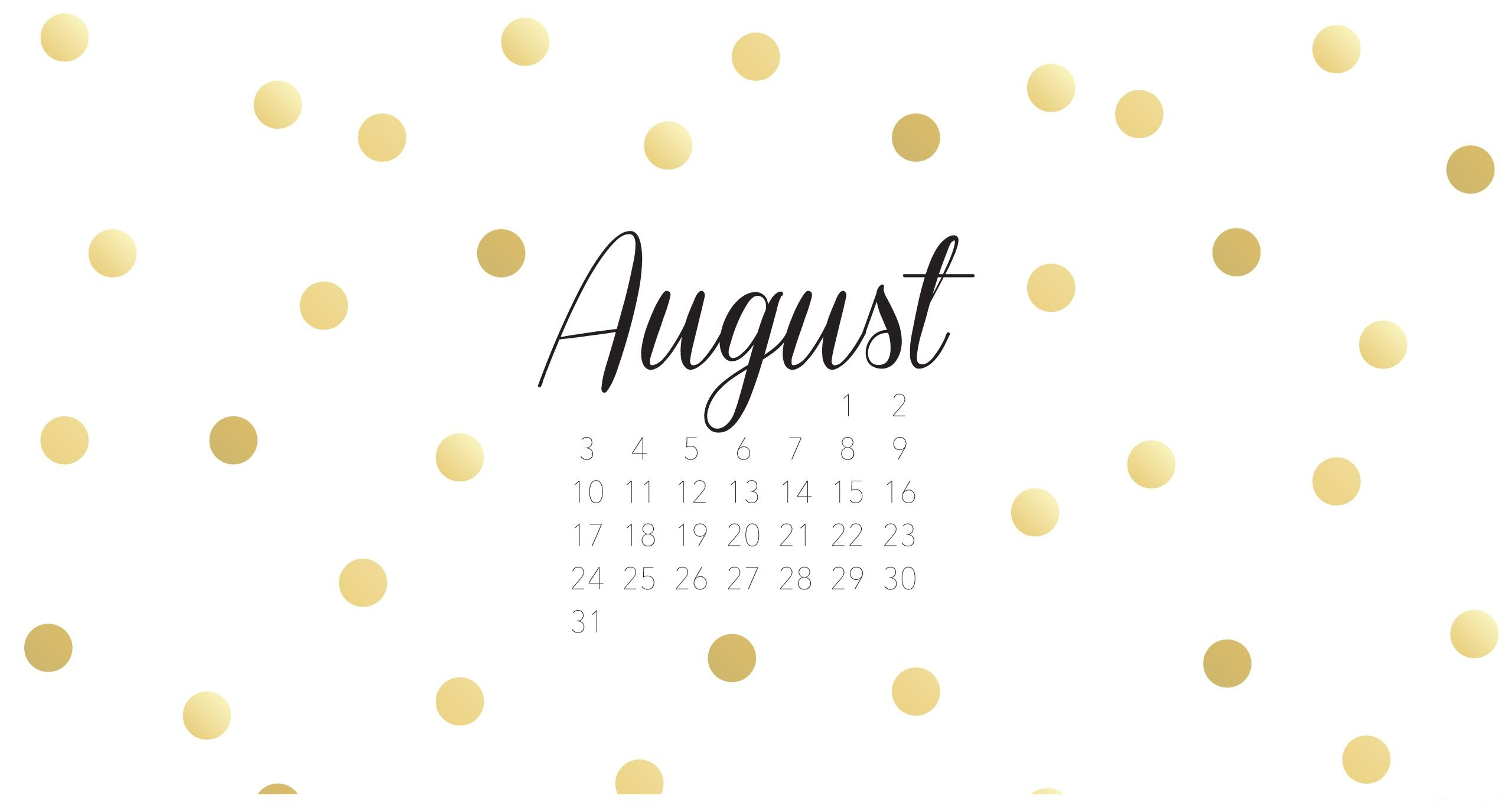 Download August Background 2560x1375