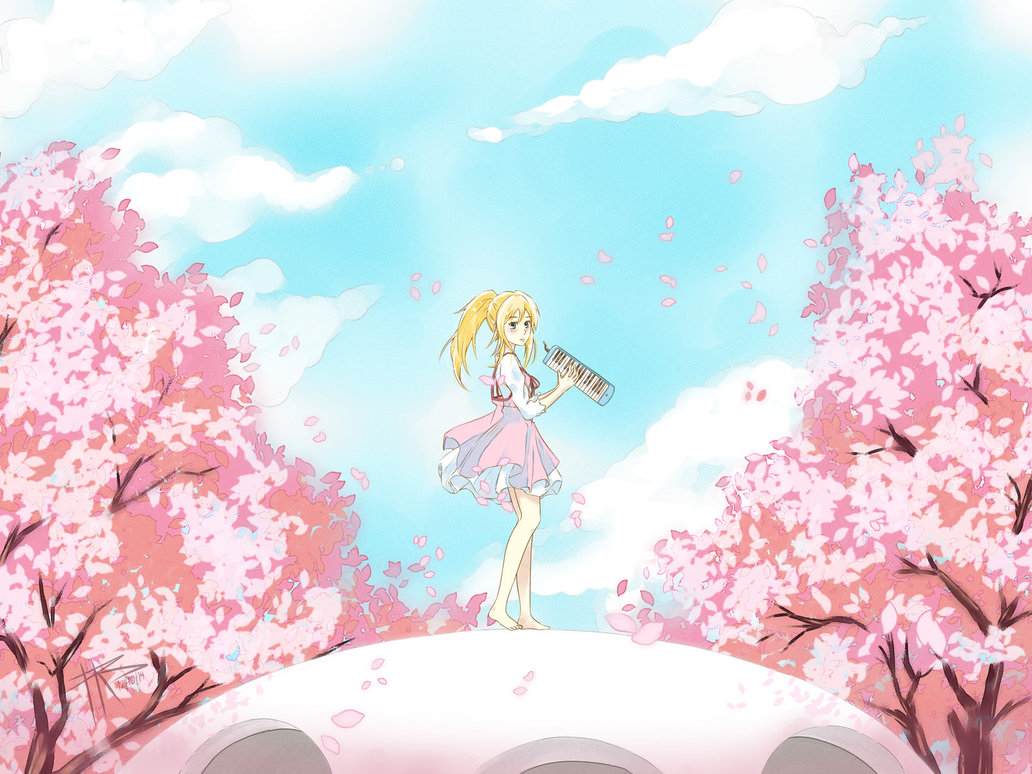 Free Download Your Lie In April Tears By Suoh12 1032x774 For