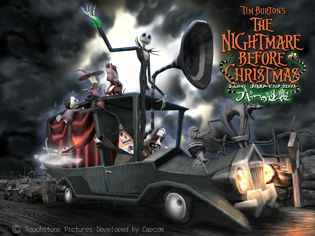 Nightmare Before Christmas The Nightmare Before Christmas 1024x768
