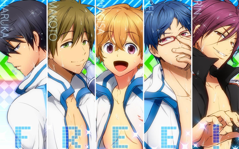 Iwatobi Swim Clun Anime Boys a96 HD Wallpaper 1440x900