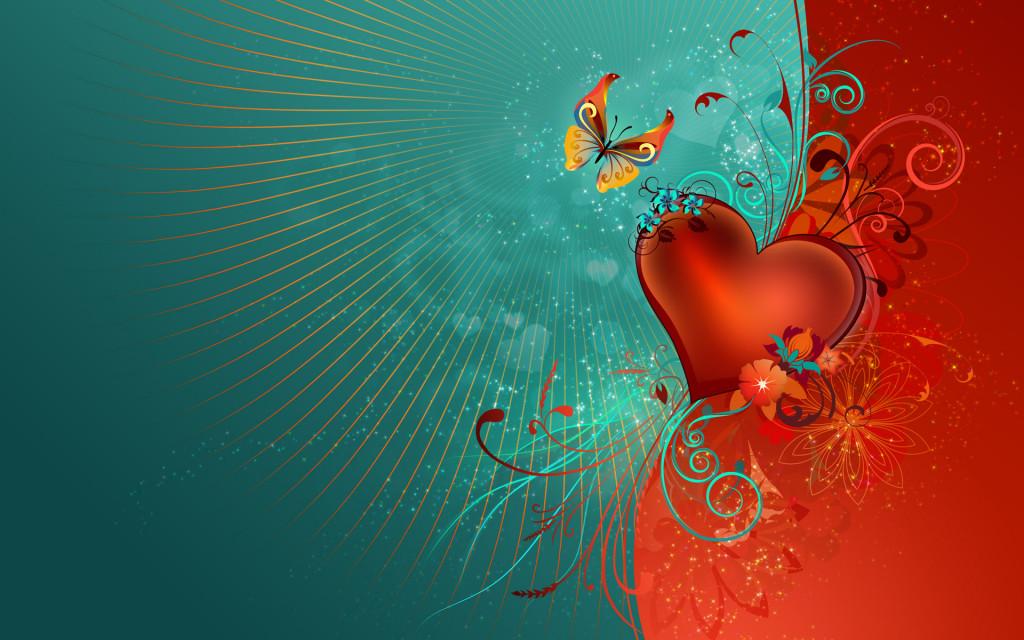 Beautiful Valentine Wallpaper 1024x640