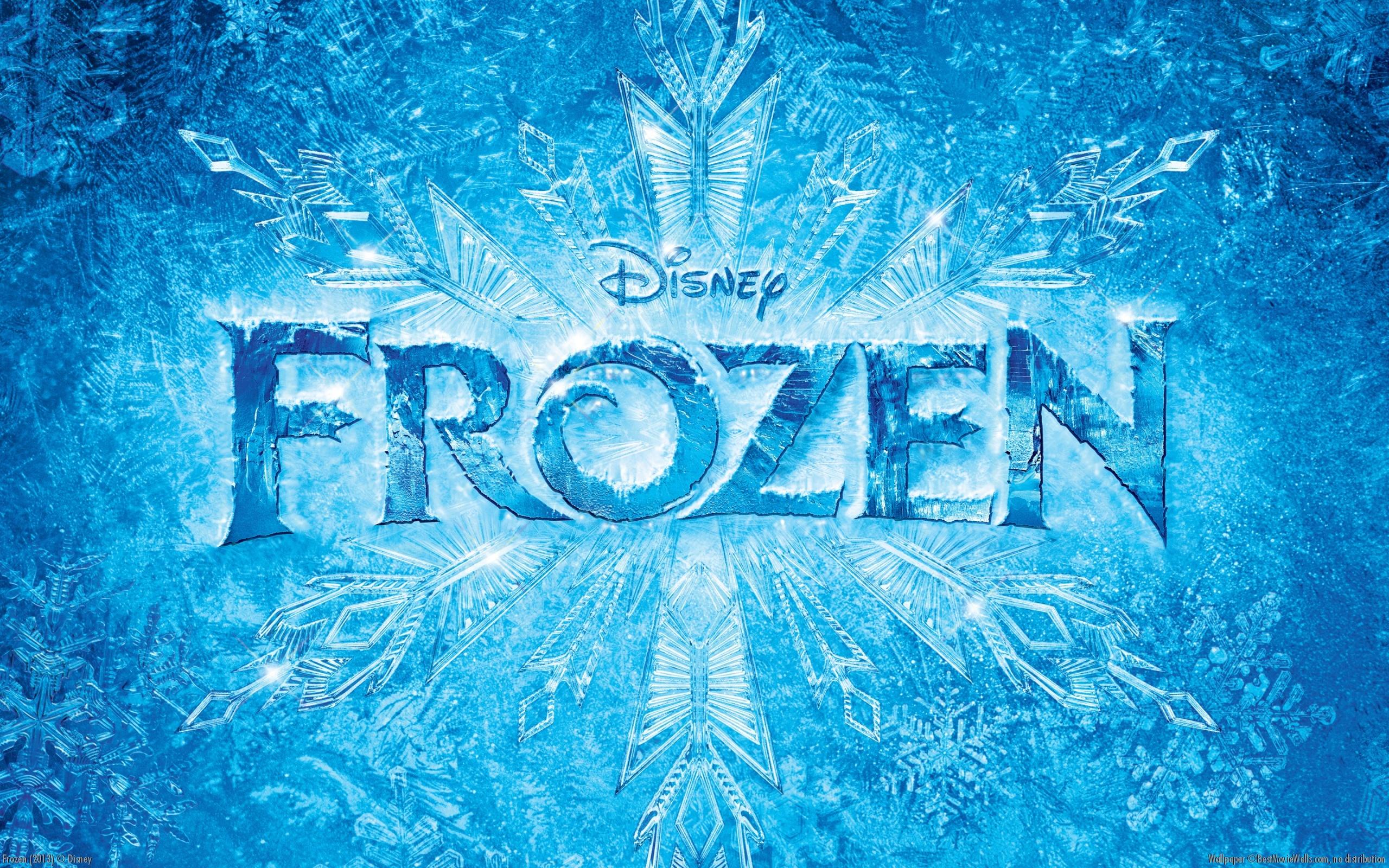 Frozen Logo Wallpaper 6795291 2560x1600