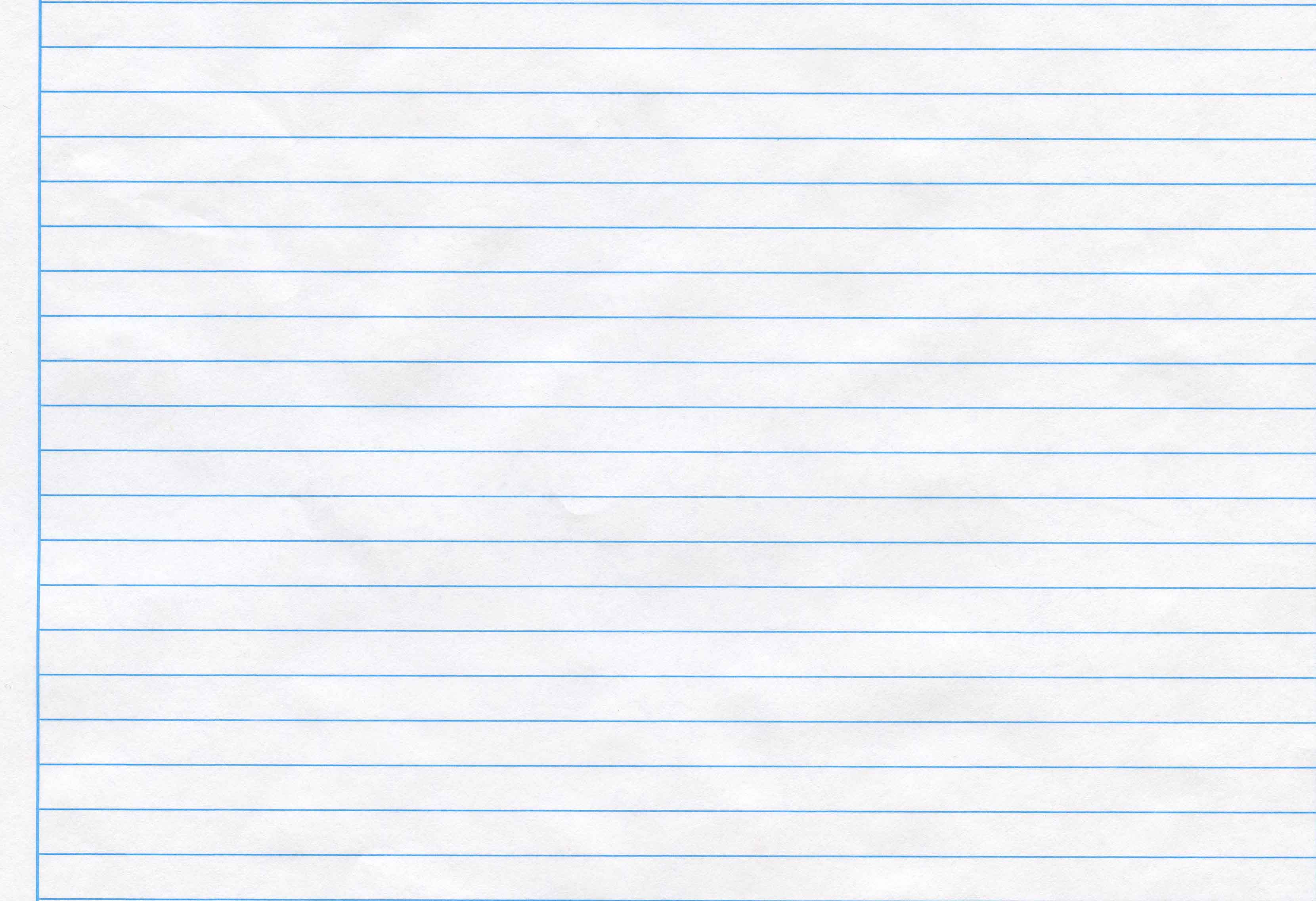 Winter lined paper