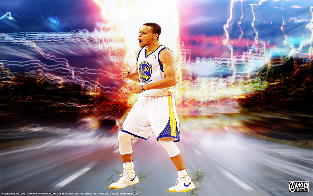 Stephen Curry by pllay1 1024x640