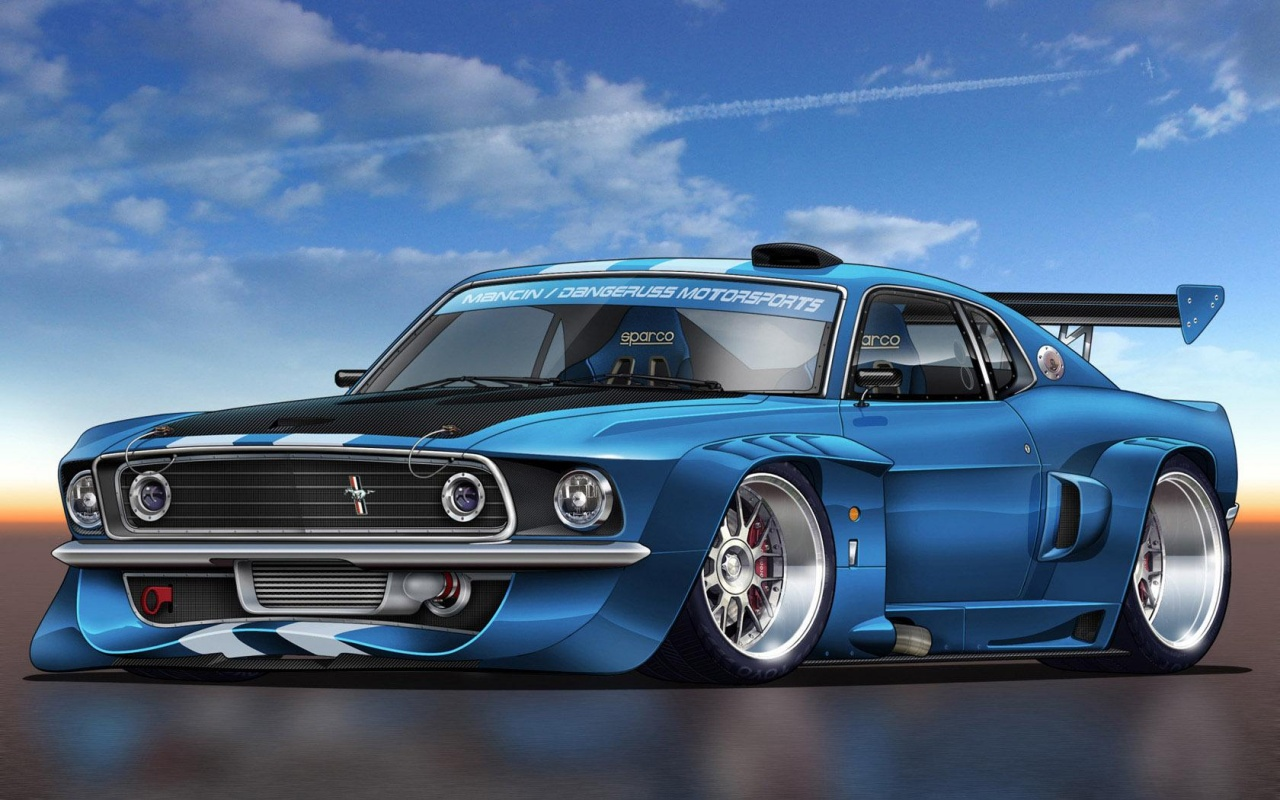 desktop mustang wallpaper 1280x800