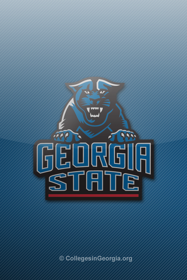 Download thumbs georgia state panthers iphone wallpaper 3 Georgia 640x960