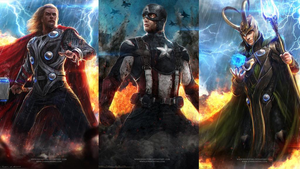 Avengers   Wallpaper 01 by johnsonting 1024x576